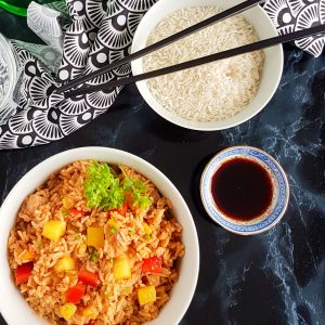Gluten Free Chinese Five Spice Fried Rice Recipe