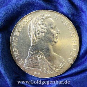 Münzen verkaufen Mariatheresientaler