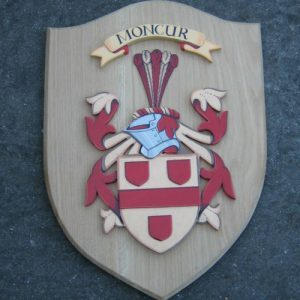 Hand-Crafted Coat of Arms Shield Shield