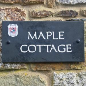 Coat of Arms Slate House Sign