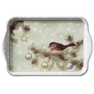 Ambiente dienblad the Season Green 13x21cm