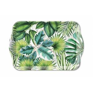Ambiente dienblad Tropical Leaves 13x21cm