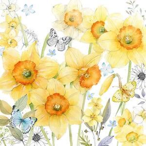 Ambiente servetten Classic Daffodils
