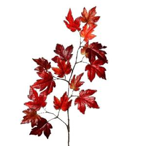 Brynxz Maple Spray Burgundy 110cm