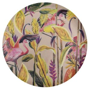 Catchii bamboe dinerbord flamingo