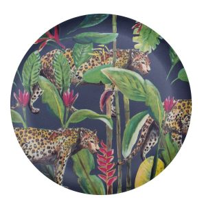 Catchii bamboe dinerbord panter wild jungle stories