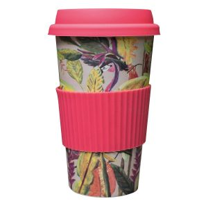 Catchii bamboe koffie to go beker flamingo wild jungle stories