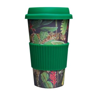 Catchii bamboe koffie to go beker Panter wild jungle stories