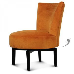 opjet fauteuil birkin draaistoel velours indi