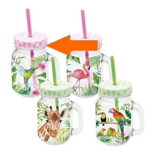 PPD drinkglas Tropical Kolibrie