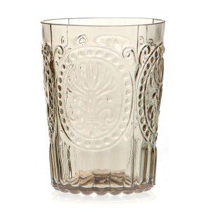 Van verre Fleur De Lys Glas Champagne groot