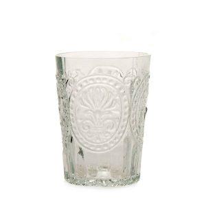 Van verre Fleur De Lys Glas Clear klein