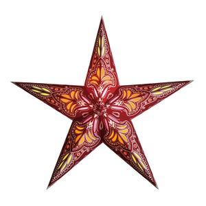 Van Verre Star Jaipur Red Orange