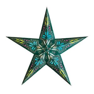 Van Verre Star Jaipur Turquoise Blue