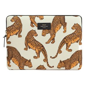 wouf leopard laptophoes