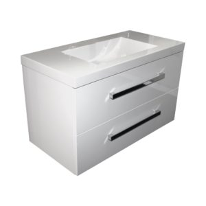 Wall hung vanity Strata 900mm Henry Brooks bathroomware