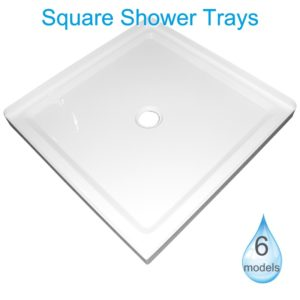 square shower trays Henry Brooks