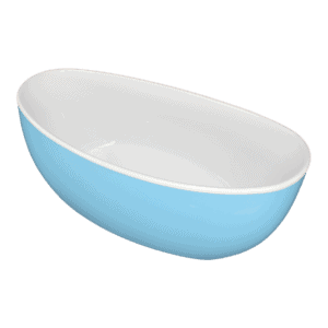 Gem blue freestanding bath Henry Brooks