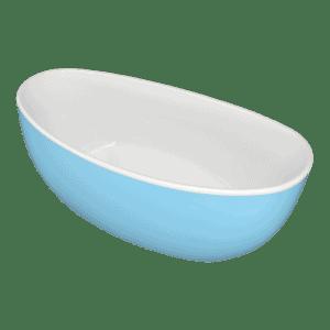 Gem blue freestanding bath Henry Brooks