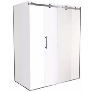 1600 x 900 shower doors 2 walled Corner Henry Brooks