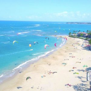 Kitesurfing lessons on Caribbean in Dominican Republic, Sosua - Cabarete.