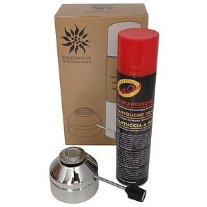 Brûleur à gaz & cartouche de gaz pour Kitgrillade.ch