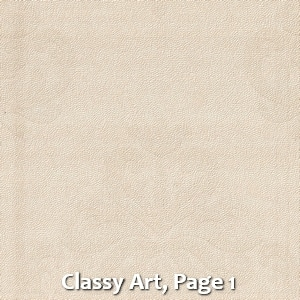 Classy Art, Page 1