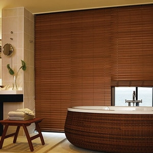 Wooden Blind Motorized
