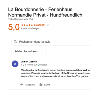 shows google reviews from feb 2019
