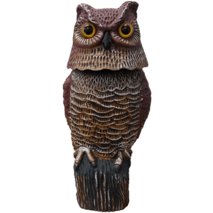 Pestrol Rotating Head Owl Bird Scarer