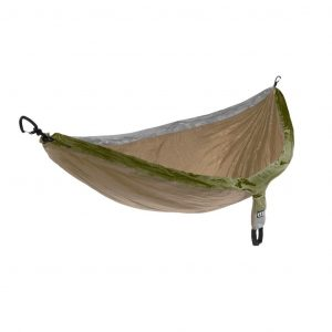 ENO single nest hammock khaki grey olive