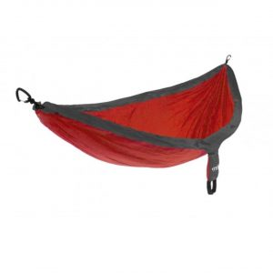 ENO single nest hammock red charcoal