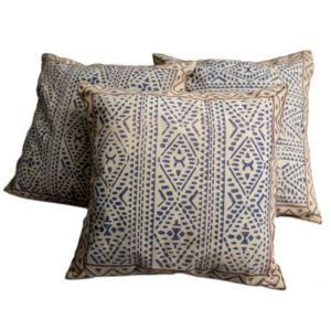 Cushion cover - geometric print