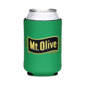 Green Mt. Olive Pickles Can Koozie