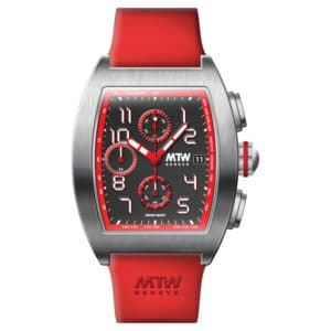 mt1 r steel red dial