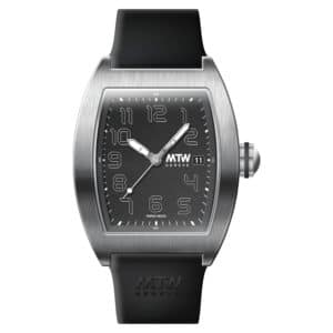 mt2 r steel black dial