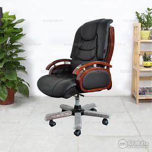 Ghế giám đốc tay gỗ đệm - AMTHTH 06