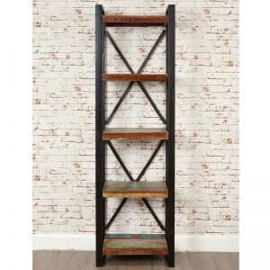 Urban Chic 5 Shelf Alcove Bookcase