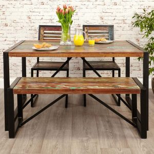 Urban Chic 140cm Dining Set
