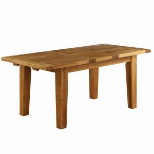 Vancouver Oak Dining Table 180 -230 cm