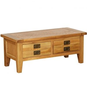 Vancouver Oak 2 Drawer Coffee Table