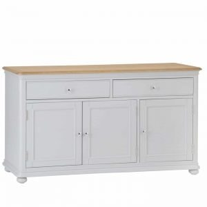 Barber Oak Large Sideboard