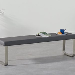 Ava Large Grey Bench