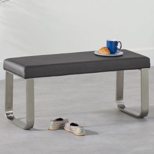 Ava Small Grey Bench