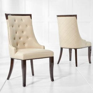 Aviva Cream Dining Chair