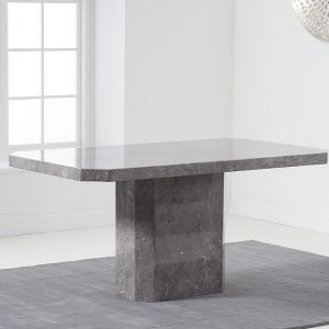 Becca 160cm Grey Dining Table