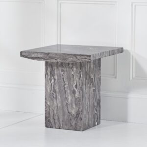 Coruna Grey Lamp Table