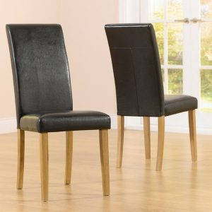 Atlanta Brown Dining Chair