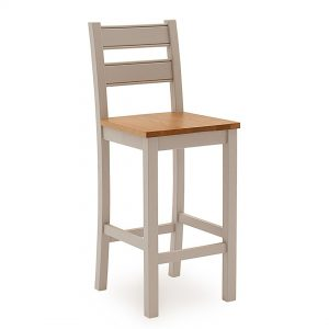 Amberly Bar Chair - Solid Seat