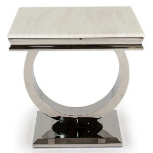 Arianna Lamp Table - Cream Low